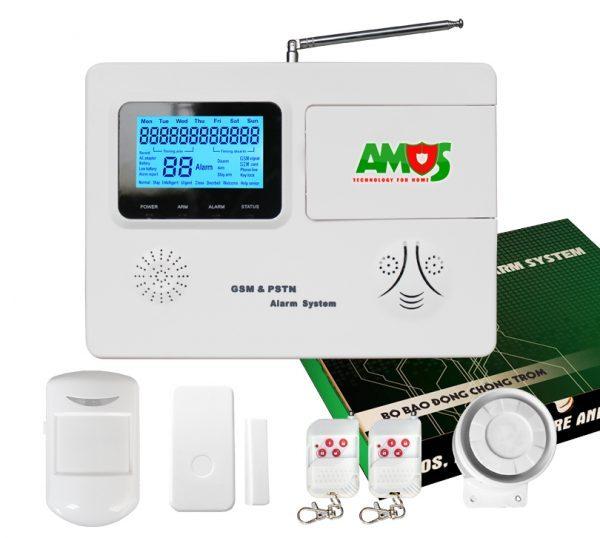 Nơi bán THIẾT BỊ BÁO ĐỘNG CHỐNG TRỘM AMOS AM-GSM74 giá rẻ