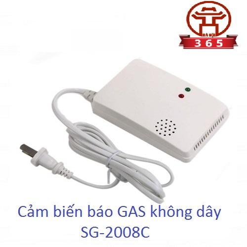 Nơi bán CẢM BIẾN BÁO GAS KHÔNG DÂY SG-2008C giá rẻ