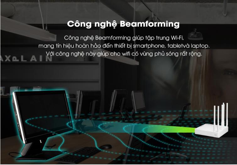 Bán BỘ PHÁT WIFI KHÔNG DÂY TOTOLINK A6004NS rẻ nhất Hà Nội