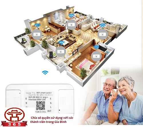 địa chỉ bán Hộp công tắc WiFi thông minh HMT10/16 tại Hà Nội