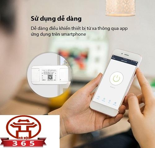 bán Hộp công tắc WiFi thông minh HMT10/16