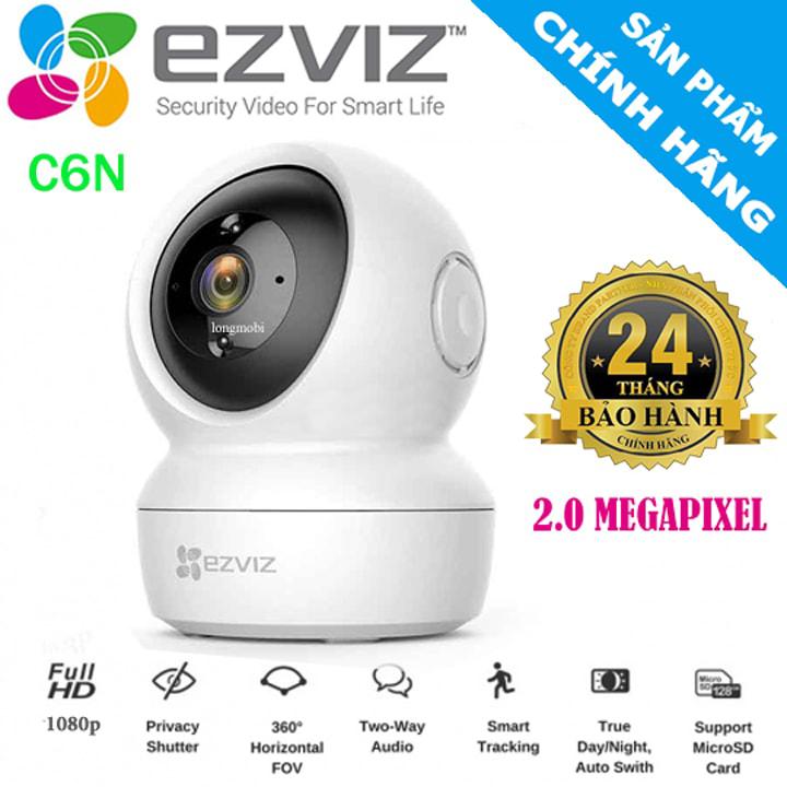 Đại lý phân phối CAMERA WIFI EZVIZ CS-C6N 1080P (C6N)