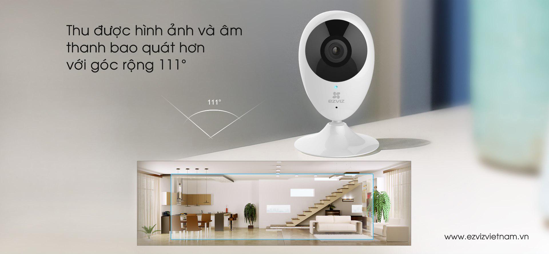 Địa chỉ bán Camera Wifi EZVIZ C2C 720P (CS-CV206-C0-1A1WFR) uy tín