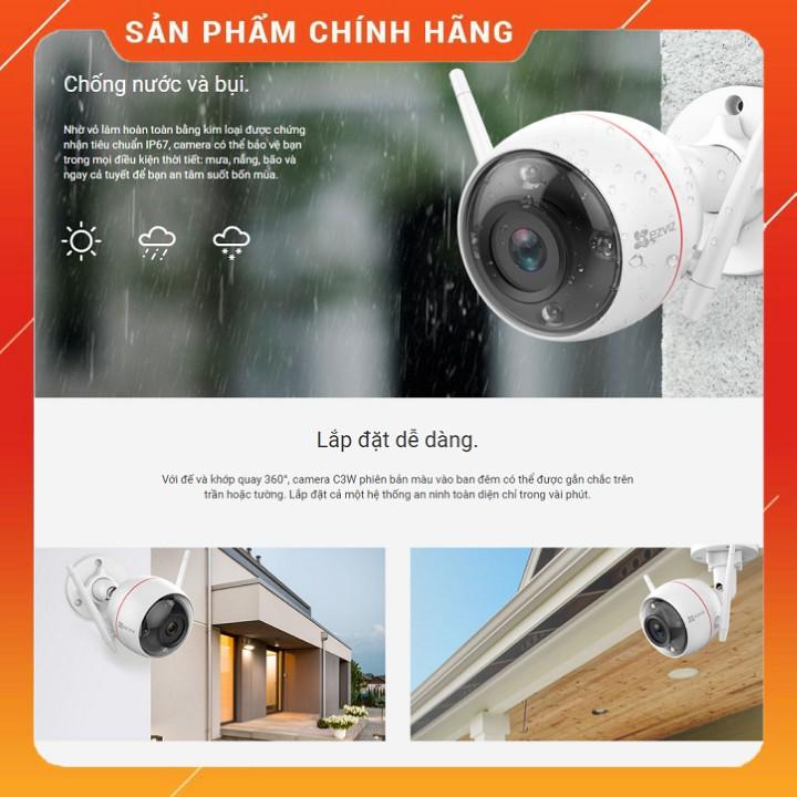Mua bán Camera IP EZVIZ C3W (CS-CV310-A0-3C2WFRL Full Color giá rẻ