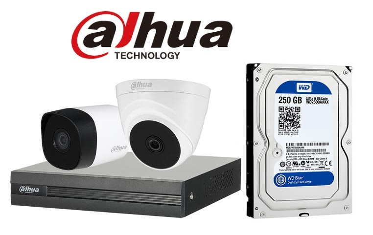 Bán Bộ 1 Camera 2.0Mp Dahua (Trong Nhà Hoặc Ngoài Trời) giá rẻ