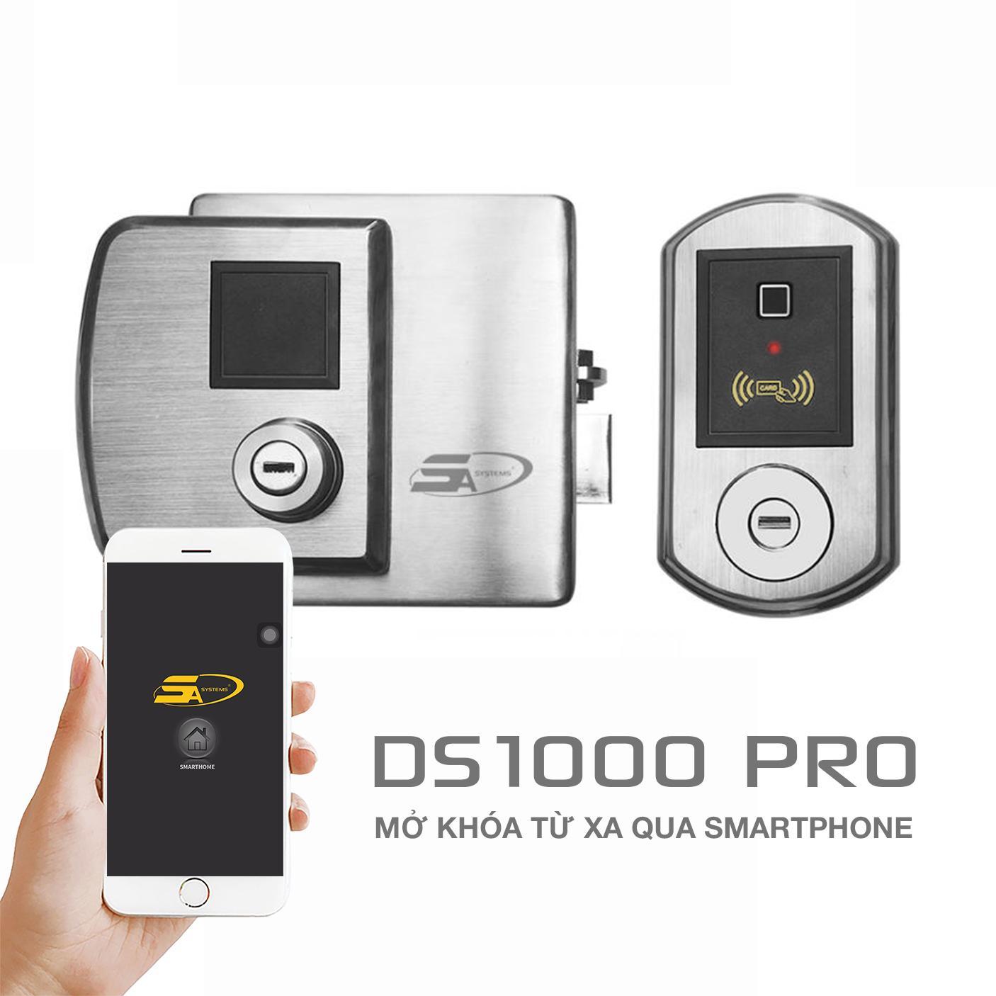địa chỉ bán KHOÁ CỬA VÂN TAY 5ASYSTEMS 5A DS1000 PRO giá rẻ