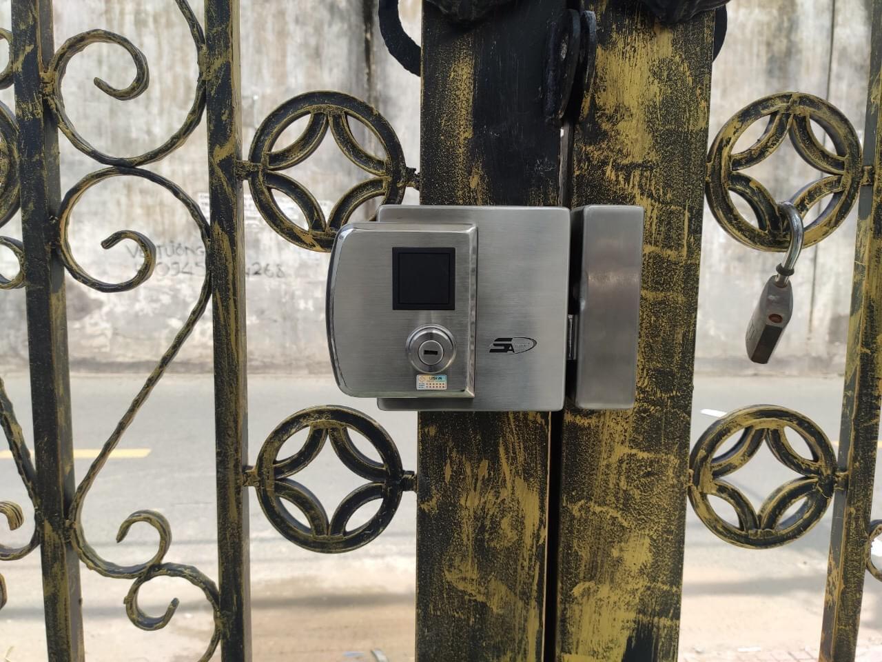 Khoá cửa vân tay 5ASYSTEMS 5A DS1000 PRO - Được Phân Phối Tại Hà Nội 365