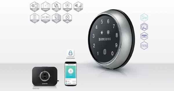 địa chỉ bán KHOÁ CỬA ĐIỆN TỬ SAMSUNG SHP-DS705MK/EN giá rẻ