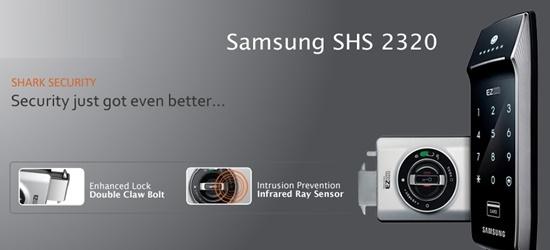 đại lý phân phối KHOÁ CỬA ĐIỆN TỬ SAMSUNG SHS-2320XMK/EN