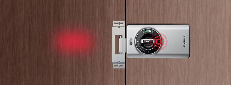 Khoá cửa điện tử SAMSUNG SHS-2320XMK/EN - Được Phân Phối Tại Hà Nội 365