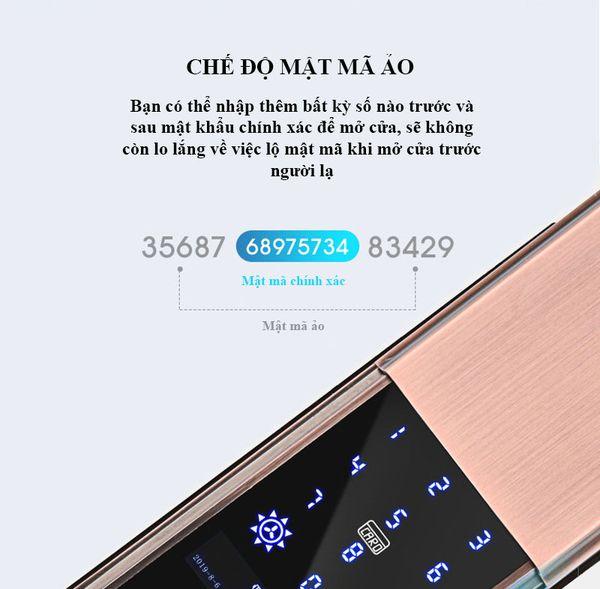 Khóa cửa điện tử HIMEDIA S8 chính hãng