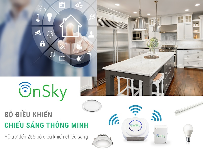 Phân phối BỘ ĐIỀU KHIỂN TRUNG TÂM ONSKY OS-UNIGW-110