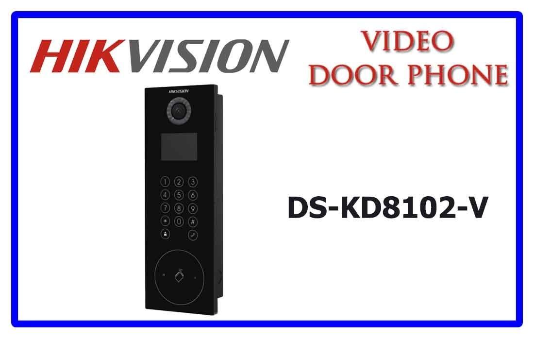 Nút chuông cửa IP HIKVISION DS-KD8102-V