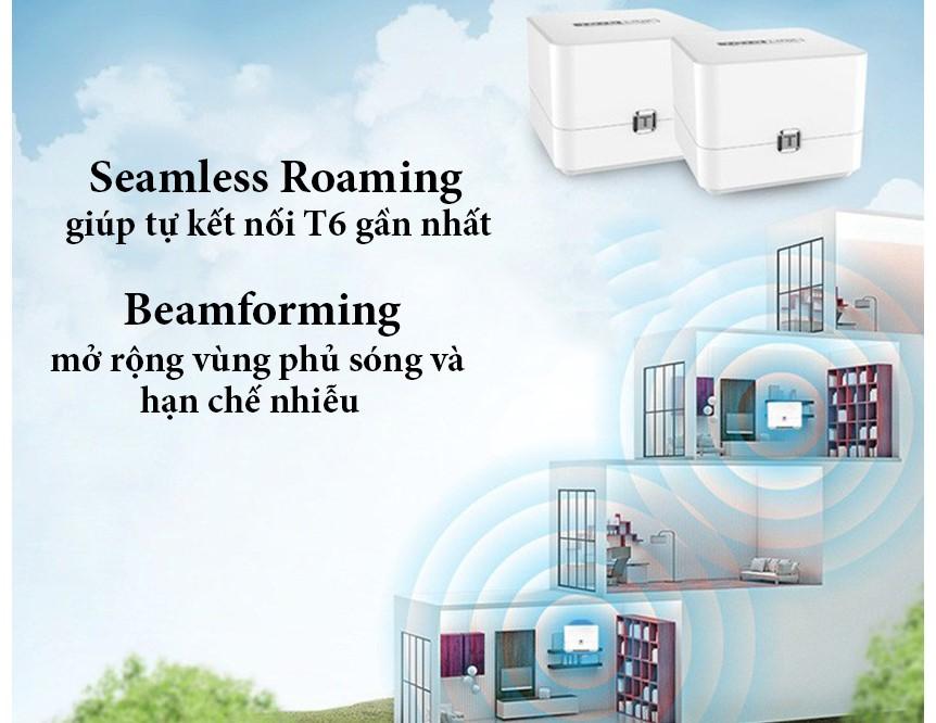 Lắp đặt, sửa chữa Bộ mesh wifi Totolink T6 AC1200 uy tín nhất Hà Nội