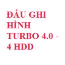 ĐẦU GHI HÌNH TURBO 4.0 - 4 ổ cứng