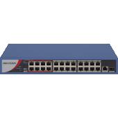 Đại lý phân phối Switch POE 24 Port HIKVISION DS-3E0326P-E/M(B) chính hãng