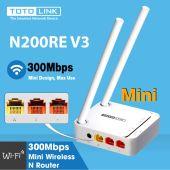 Đại lý phân phối Bộ Phát WiFi TOTOLINK N200RE-v3 300Mbps chính hãng