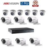 Mua Bộ 12 Camera 2.0Mp Hikvision (Trong Nhà Hoặc Ngoài Trời) uy tín giá rẻ