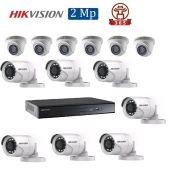 Mua Bộ 13 Camera 2.0Mp Hikvision (Trong Nhà Hoặc Ngoài Trời) uy tín giá rẻ