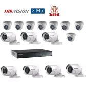 Mua Bộ 15 Camera 2.0Mp Hikvision (Trong Nhà Hoặc Ngoài Trời) uy tín giá rẻ
