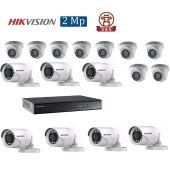 Mua Bộ 16 Camera 2.0Mp Hikvision (Trong Nhà Hoặc Ngoài Trời) uy tín giá rẻ