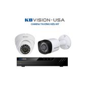 Bộ 2 Camera 4.0Mp KBVISION (Trong Nhà Hoặc Ngoài Trời) chính hãng giá rẻ