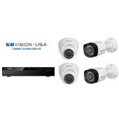 Bộ 4 Camera 4.0Mp KBVISION (Trong Nhà Hoặc Ngoài Trời) chính hãng giá rẻ
