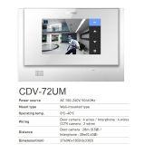 địa chỉ bán MÀN HÌNH CHUÔNG CỬA COMMAX CDV-72UM giá rẻ,