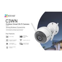 Bán Camera Wifi EZVIZ C3WN 1080P (CS-CV310-A0-1C2WFR) tại Hà Nội
