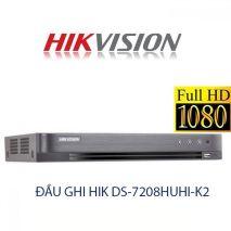 Bán Đầu ghi hình HIKVISION DS-7208HUHI-K2 rẻ nhất Hà Nội