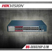 Mua Switch POE 24 Port HIKVISION DS-3E0326P-E/M(B) ở đâu uy tín