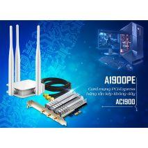 Mua Card mạng Wi-Fi Totolink A1900PE PCI-E AC1900 ở đâu uy tín