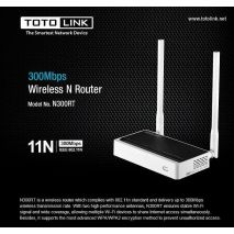 Bán Bộ Phát Wifi TotoLink N300RT tốc độ 300Mbps rẻ nhất Hà Nội