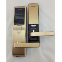 lắp đặt Khoá cửa điện tử SAMSUNG SHS-H705FBG/EN