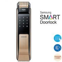 lắp đặt Khoá cửa điện tử SAMSUNG SHS-P718LBG/EN