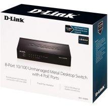 lắp đặt THIẾT BỊ CHIA MẠNG SWITCH D-LINK DES-1008PA giá rẻ