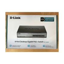 lắp đặt THIẾT BỊ CHIA MẠNG SWITCH POE D-LINK DGS-1008MP giá rẻ