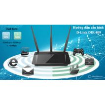 Bán  Thiết bị phát Wifi D-link băng tần kép DIR-809 rẻ nhất Hà Nội