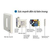 Lắp đặt CÔNG TẮC CẢM ỨNG CHUYỂN ĐỘNG RADAR BTX-3PW-MWV1 giá rẻ