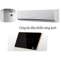 CÔNG TẮC CÔNG SUẤT CAO VIỀN NHÔM 3 NÚT LM-HP3chính hãng giá rẻ