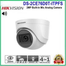 địa chỉ bán CAMERA QUAN SÁT  HIKVISION HD-TVI DS-2CE76D0T-ITPFS giá rẻ,