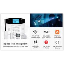 Lắp đặt BỘ BÁO TRỘM GSM PHÍM VẬT LÝ 433MHZ GP05 giá rẻ