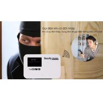 Lắp đặt BỘ BÁO ĐỘNG CHỐNG TRỘM DÙNG SIM GSM ĐTDĐ GS09 giá rẻ