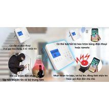 Lắp đặt BỘ BÁO TRỘM CAO CẤP GW02 - KẾT NỐI WIFI, GSM, PSTN giá rẻ