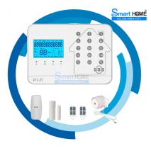 BỘ BÁO TRỘM CAO CẤP GW02 - KẾT NỐI WIFI, GSM, PSTN chính hãng giá rẻ