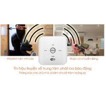 BỘ KIT BÁO TRỘM WIFI + SIM GSM SMARTZ GW03 chính hãng giá rẻ