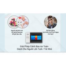 BỘ BÁO ĐỘNG CHỐNG TRỘM GW05 QUA WIFI + SIM GSM GW05 CAO CẤP chính hãng giá rẻ