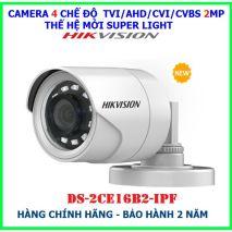 Bán và lắp đặt Bộ 11 Camera 2.0Mp Hikvision (Trong Nhà Hoặc Ngoài Trời) uy tín