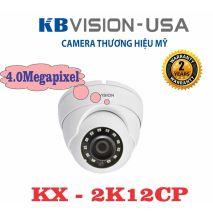 Lắp đặt Bộ 2 Camera 4.0Mp KBVISION (Trong Nhà Hoặc Ngoài Trời) uy tín chất lượng