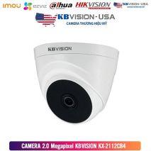 Lắp đặt Bộ 4 Camera 2.0Mp KBVISION (Trong Nhà Hoặc Ngoài Trời) uy tín chất lượng